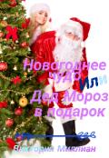 """Обложка книги """"Новогоднее чудо или Дед Мороз в подарок"""""""
