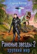 """Обложка книги """"Раненые звёзды - 2: Хрупкий мир"""""""