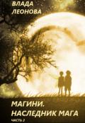 """Обложка книги """"Магини. Наследник Мага (часть 2)"""""""