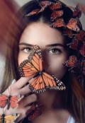 """Обложка книги """"Бабочка для....."""""""