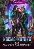 """Обложка книги """"Космо-котики, или Два босса для землянки"""""""