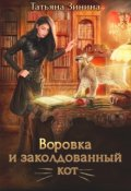 """Обложка книги """"Воровка и заколдованный кот"""""""