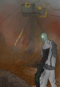 "Обложка книги ""Никакой связи на Марсе"""