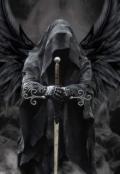 """Обложка книги """"Мой темный Архангел"""""""