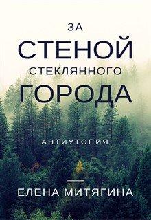 """Обложка книги """"За стеной стеклянного города"""""""