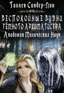 """Книга. """"Беспокойные будни тёмного архимагистра. Магакадемия 1"""" читать онлайн"""