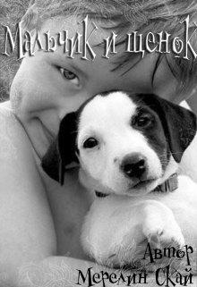 """Книга. """"Мальчик и щенок """" читать онлайн"""