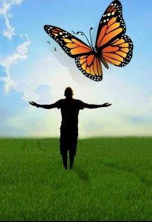 """Книга. """"Над головой пролетела огромная бабочка"""" читать онлайн"""