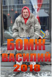 """Книга. """"Бомж Василий"""" читать онлайн"""