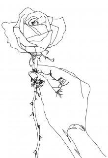 """Книга. """"Не сжигай розы"""" читать онлайн"""