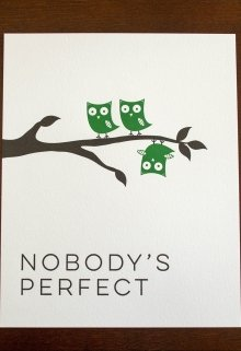 "Книга. ""Nobody is perfect"" читать онлайн"