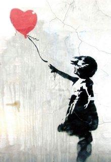 """Книга. """"Девочка с красным шариком"""" читать онлайн"""