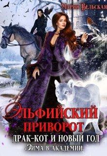 """Книга. """"Эльфийский приворот, драк-кот и Новый год. Зима в Академии"""" читать онлайн"""
